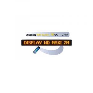Display WD Giallo MAXI 2 Metri